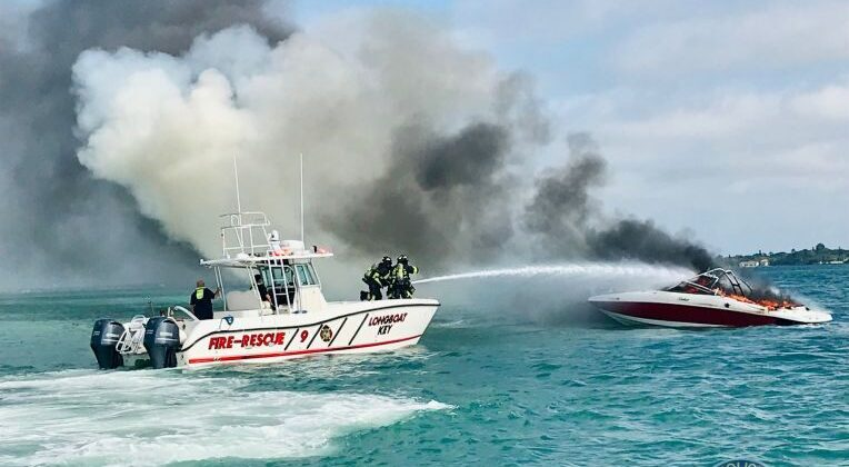 9 People Rescued From Sarasota Boat Fire